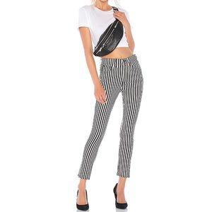 Rag & Bone Stripped Skinny Jeans